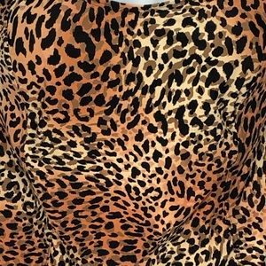 St. John's Bay Swim - ST JOHNS BAY animal print built in bra tankini